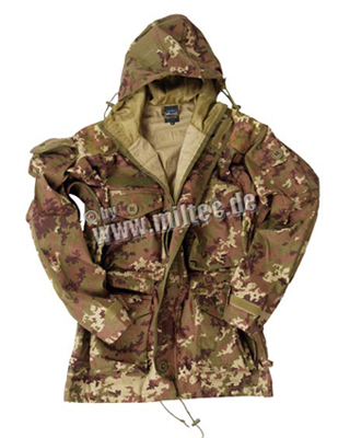 Куртка снайпера  SMOCK LIGHT WEIGHT VEGETATO, Mil-tec, 11633042