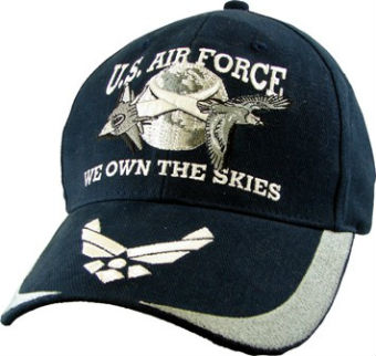 Бейсболка CAP-U.S. AIR FORCE-WE OWN THE SKIES,5673