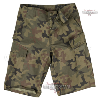 Шорты Army Combat Uniform Shorts,Helikon-tex,PL-Woodland,SP-ACK-PR