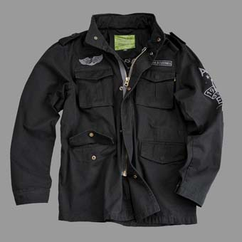 Куртка  Eagle Skcull  Alpha Industries, черный,121113