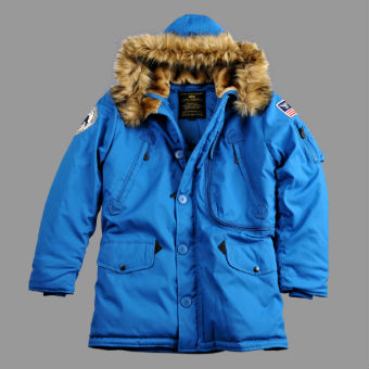 Куртка Jacket Polar  Alpha Industries,royal, 123144
