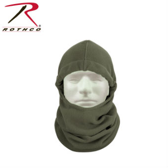 Балаклава Rothco Polar Fleece Adjustable армейский серый