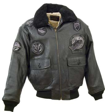 Куртка G-1 Wings of Gold Bomber  Schoot, черный