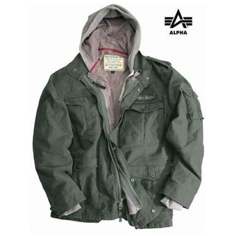 Куртка Rotor Alpha Industries,оливковый