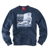 2Свитер Sweatshirt Viking 985 , синий,Thor Steinar,12406