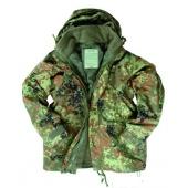 Куртка на мембране SSESCHUTZ M.FLEECEJACKE Flecktarn