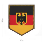 Нашивка PATCH 3D PVC GERMAN SHIELD,444130-5361