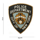Нашивка PATCH 3D PVC POLICE DEPARTMENT, 444110-3567