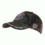 Бейсболка  Baseball cap 101 INC Airsoft division woodland