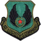 72118 U.S.A.F. Air Force Logistics Command Color Patch нашивка плечевая