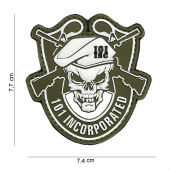 Нашивка Patch 3D PVC 101 Incorporated оливковый  444180-3971