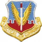 72114 U.S.A.F. Air Combat Command Color нашивка