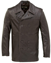 Бушлат Cowhide Fitted Peacoat, Schott,корчневый640 FL