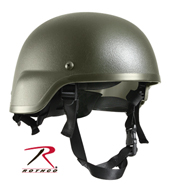 Каска ABS TACTICAL HELMET TAPE MICH 2000, оливковый,1997