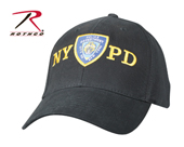 Бейсболка-кепка OFFICIALLY LICENSED NYPD ADJUSTABLE CAP WITH EMBLEM,синий,8272