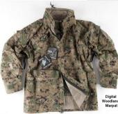 Тактическая штормовая куртка ECWCS 2Generation Helikon-tex,Did.Woodland