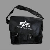 Сумка Alpha Industries Bag Big A Oxford Courier,чёрный