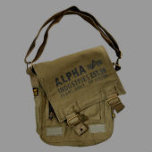 Сумка Alpha Industries Cargo Canvas Utility Bag,оливковый