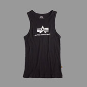 "Майка ""Logo Tank"" Alpha Industries черный,151503"
