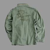 8Куртка  Eagle Skcull  Alpha Industries, оливковый,121113
