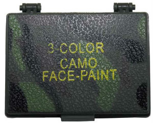Набор для армейской маскировки 3 Color Camo face-paint,MFH