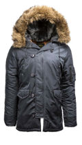 Куртка ''N-3B Parka''  SLIM FIT Steel blue