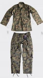 Комплект камуфляжа CPU - Combat Patrol Uniform,poland woodland