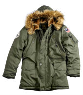 Куртка Jacket Polar  Alpha Industries,зеленый, 123144