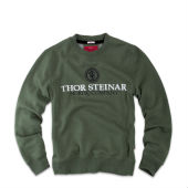 1Свитер Sweatshirt Support ,зеленый,Thor Steinar
