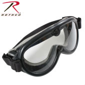 2Очки защитные ROTHCO TACTICAL Genuine G.I. Type Sun, Wind & Dust  GOGGLES, черный