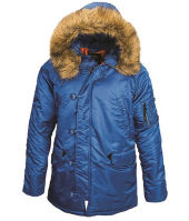 Куртка ''N-3B Parka''  SLIM FIT Pasific blue