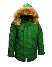 Куртка Altitude Parka Forest green