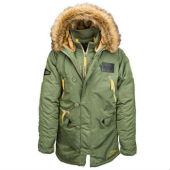 1Куртка N-3B Inclement Parka,оливковый