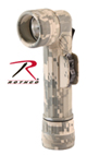 Фонарь GI ''D'' ANGLEHEAD FLASHLIGHT-ACU DIGITAL CAMO,Rothco,701