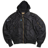 Куртка ''Air Race Hooded Jacket'' Black MJA42080B