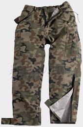 Непромокаемые брюки на мембране ECWCS GEN II Pants PL-Woodland,Helikon-Tex,SP-EC2-NL