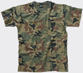 Футболка Classic Army T-Shirt Helikon-tex,PL-Woodland,TS-TSH-CO-14