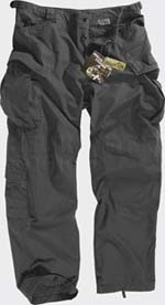 Брюки SFU - Special Forces Uniform Pants, черные,SP-SFU-PR