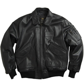 1 Куртка ''Leather CWU 45/P'' Black MLC21011B