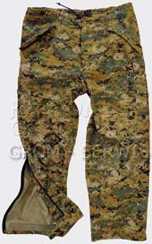 Непромокаемые брюки на мембране ECWCS GEN II Pants ,Did/Woodland,Helikon-Tex,SP-EC2-NL
